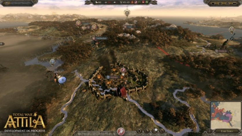 Screenshot 3 - Total War: ATTILA