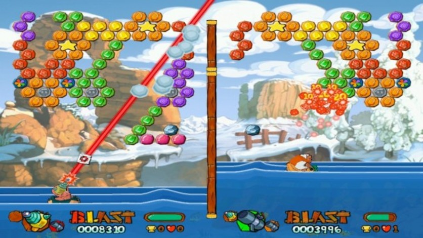 Screenshot 2 - Worms Blast