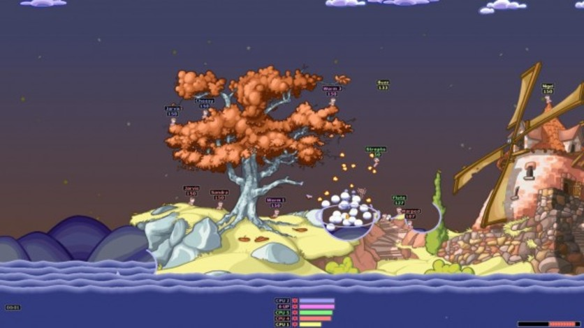 Screenshot 4 - Worms Armageddon