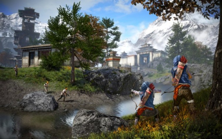 Screenshot 1 - Far Cry 4: Overrun