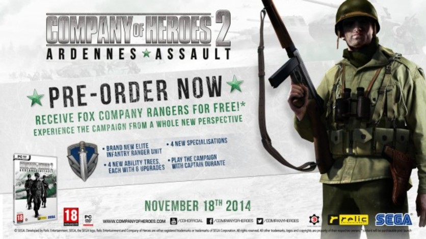 Screenshot 4 - Company of Heroes 2: Ardennes Assault