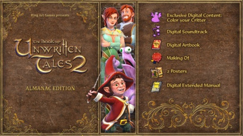 Screenshot 14 - The Book of Unwritten Tales 2 - Almanac Edition