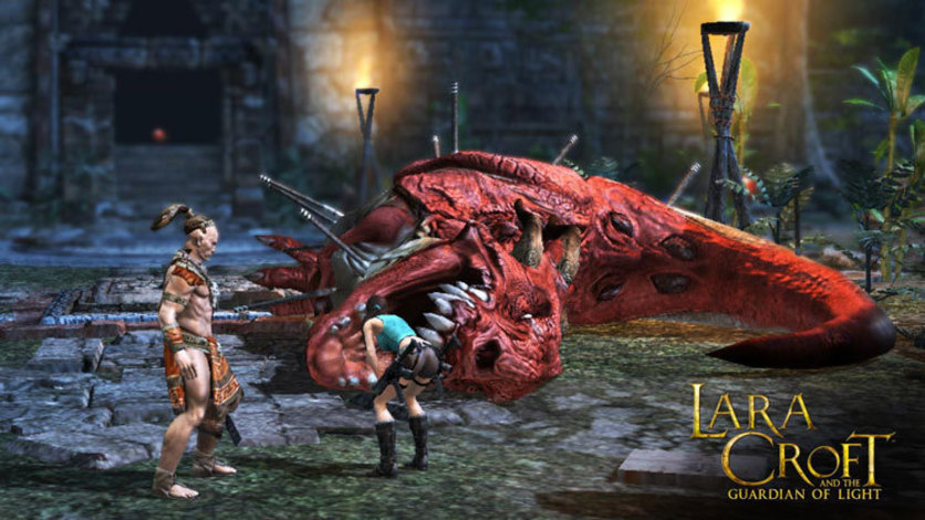 Screenshot 2 - Lara Croft GoL: Things that Go Boom - Challenge Pack 2