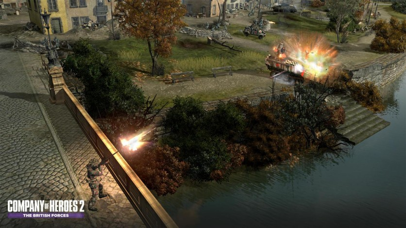 Screenshot 4 - Company of Heroes 2: The British Forces