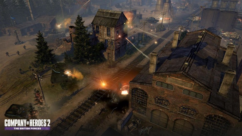 Screenshot 8 - Company of Heroes 2: The British Forces