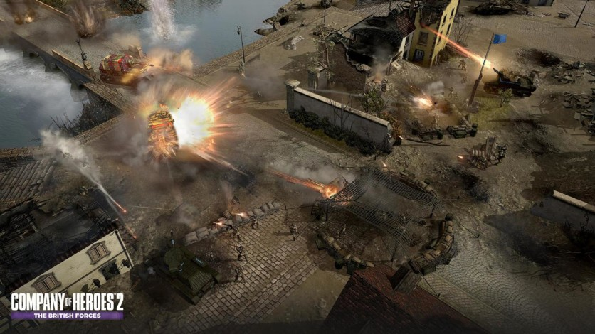 Screenshot 5 - Company of Heroes 2: The British Forces