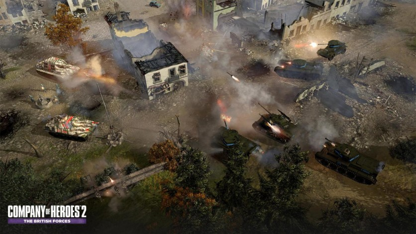 Screenshot 7 - Company of Heroes 2: The British Forces