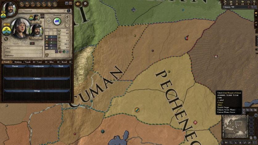 Screenshot 2 - Crusader Kings II: Horse Lords Content Pack