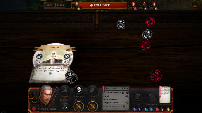 Screenshot 3 - The Witcher Adventure Game