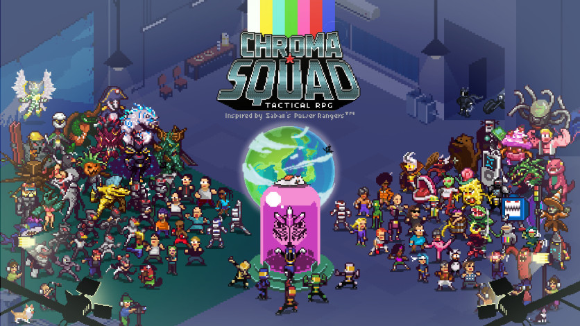 Screenshot 1 - Chroma Squad OST