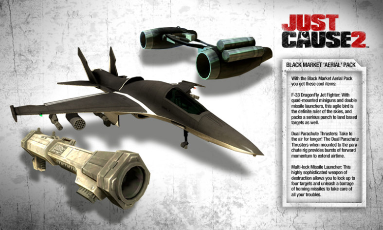 Screenshot 1 - Just Cause 2 DLC Collection