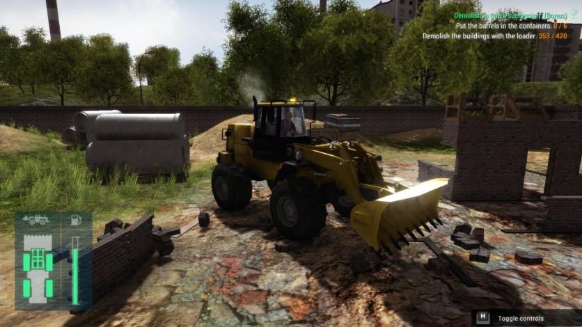 Screenshot 2 - Construction Machines Simulator 2016