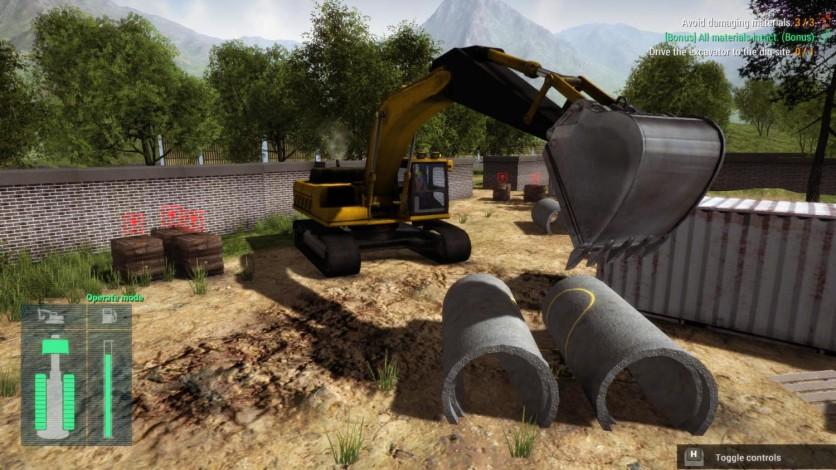 Screenshot 5 - Construction Machines Simulator 2016