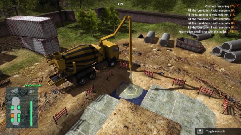 Screenshot 3 - Construction Machines Simulator 2016