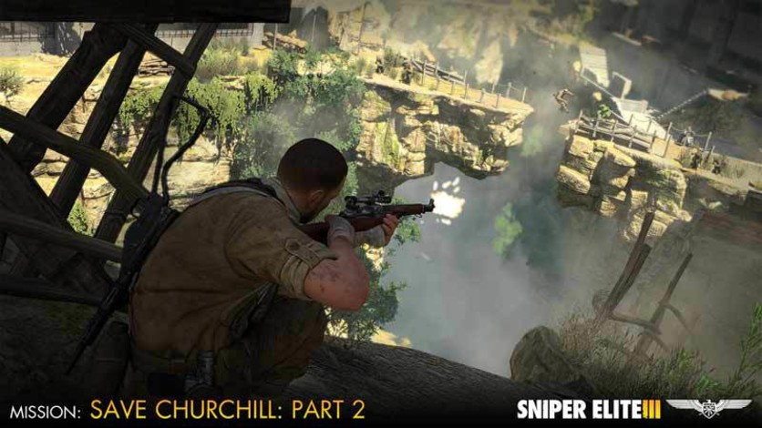 Screenshot 2 - Sniper Elite III - Save Churchill Part 2: Belly of the Beast