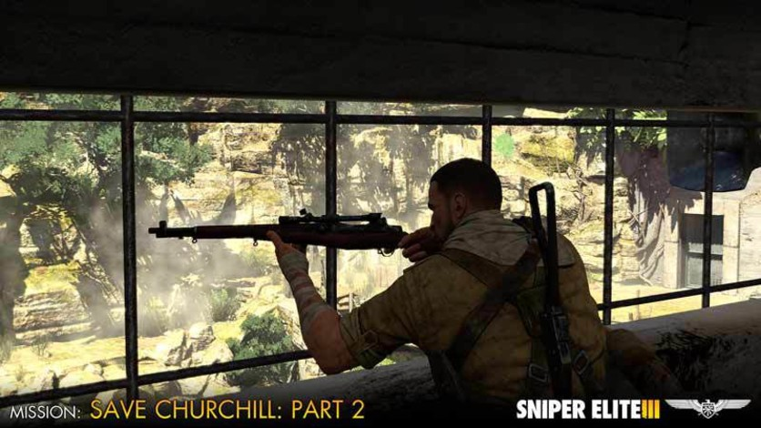 Screenshot 10 - Sniper Elite III - Save Churchill Part 2: Belly of the Beast