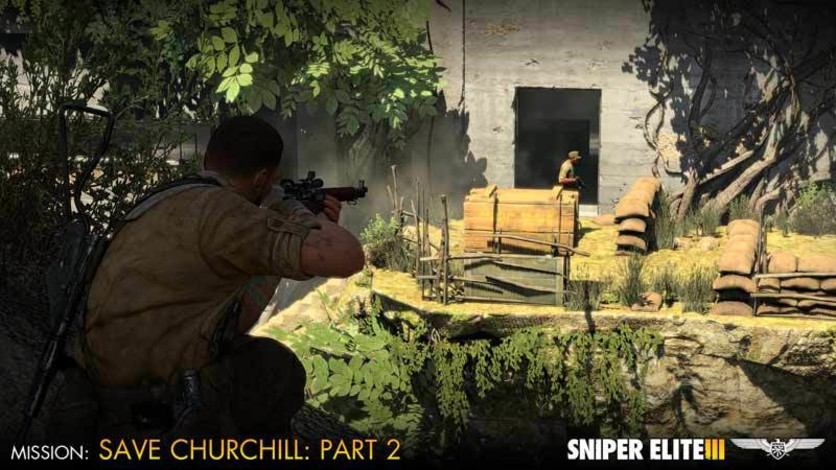 Screenshot 1 - Sniper Elite III - Save Churchill Part 2: Belly of the Beast