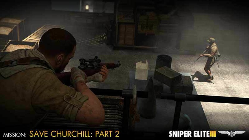 Screenshot 4 - Sniper Elite III - Save Churchill Part 2: Belly of the Beast