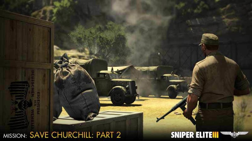 Screenshot 8 - Sniper Elite III - Save Churchill Part 2: Belly of the Beast