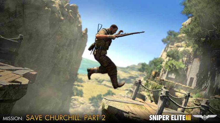 Screenshot 9 - Sniper Elite III - Save Churchill Part 2: Belly of the Beast