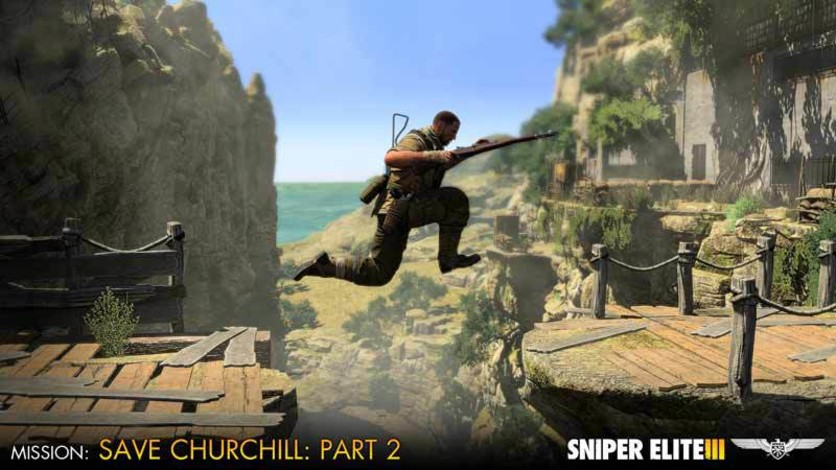 Screenshot 5 - Sniper Elite III - Save Churchill Part 2: Belly of the Beast