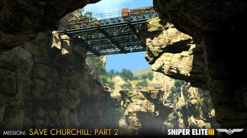 Screenshot 6 - Sniper Elite III - Save Churchill Part 2: Belly of the Beast