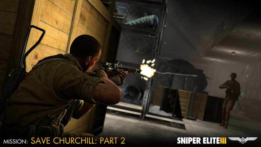 Screenshot 7 - Sniper Elite III - Save Churchill Part 2: Belly of the Beast