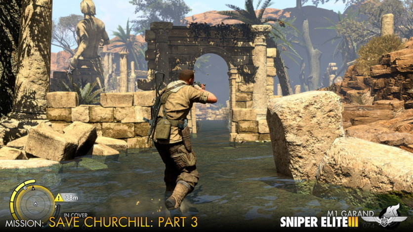 Screenshot 4 - Sniper Elite III - Save Churchill Part 3: Confrontation