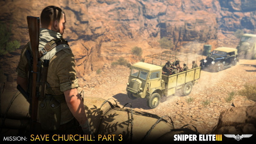 Screenshot 7 - Sniper Elite III - Save Churchill Part 3: Confrontation
