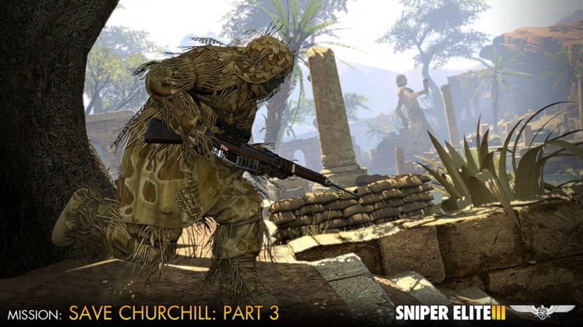 Screenshot 1 - Sniper Elite III - Save Churchill Part 3: Confrontation