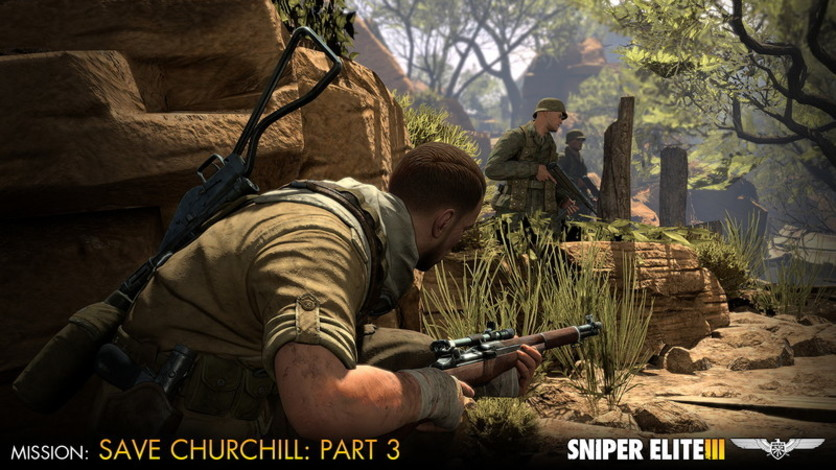 Screenshot 5 - Sniper Elite III - Save Churchill Part 3: Confrontation