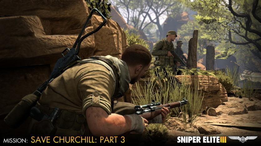 Screenshot 5 - Sniper Elite III - Save Churchill Part 3: Confrontation