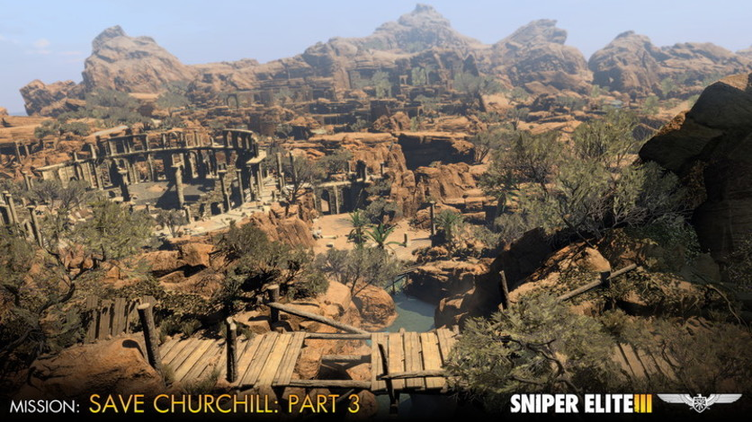 Screenshot 2 - Sniper Elite III - Save Churchill Part 3: Confrontation