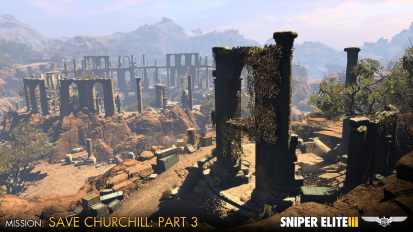 Screenshot 3 - Sniper Elite III - Save Churchill Part 3: Confrontation