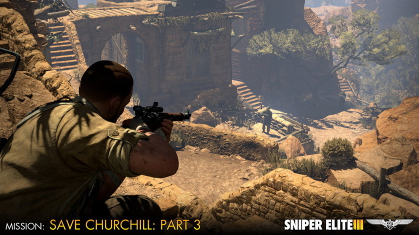 Screenshot 6 - Sniper Elite III - Save Churchill Part 3: Confrontation