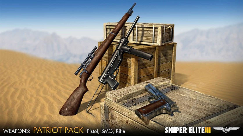 Screenshot 1 - Sniper Elite III - Patriot Weapons Pack