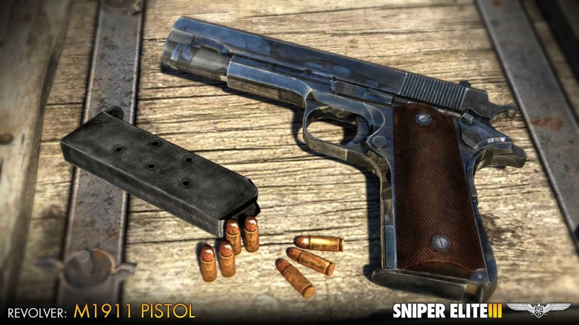 Screenshot 4 - Sniper Elite III - Patriot Weapons Pack