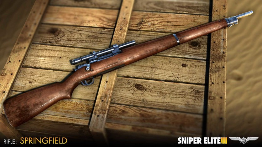 Screenshot 3 - Sniper Elite III - Patriot Weapons Pack