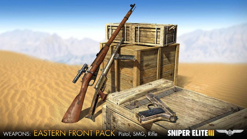 Screenshot 1 - Sniper Elite III - Eastern Front Weapons Pack