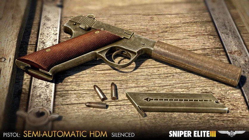 Screenshot 2 - Sniper Elite III - Camouflage Weapons Pack