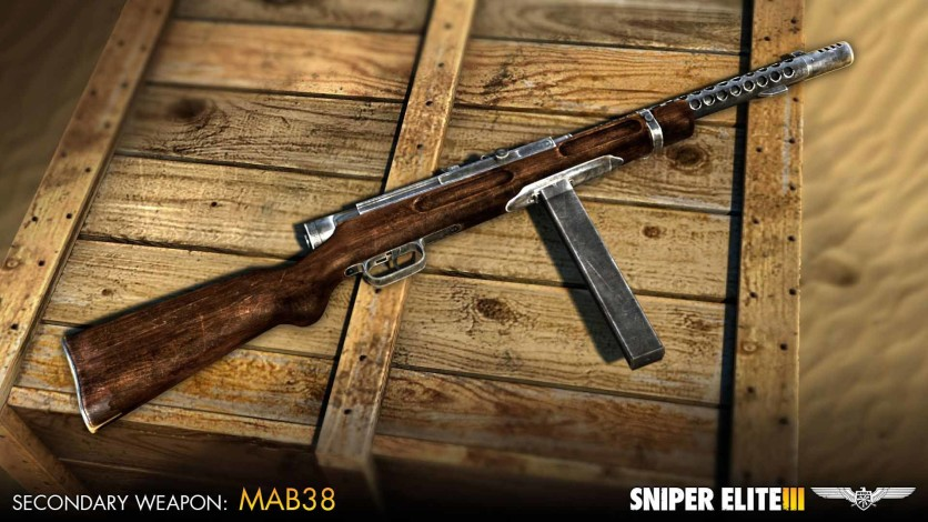 Screenshot 2 - Sniper Elite 3 - Axis Weapons Pack