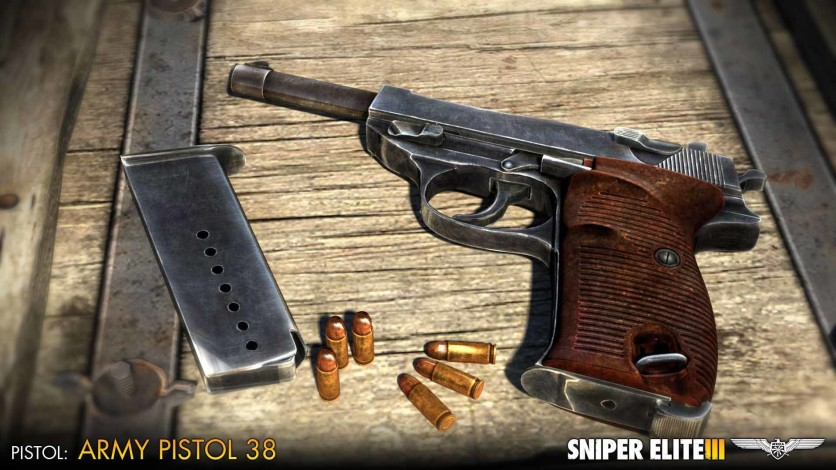 Screenshot 4 - Sniper Elite 3 - Axis Weapons Pack