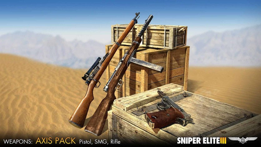 Screenshot 1 - Sniper Elite 3 - Axis Weapons Pack