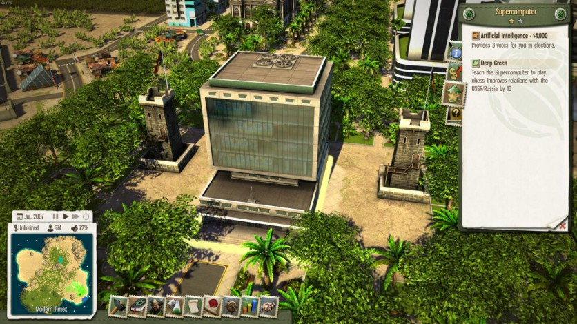 Screenshot 2 - Tropico 5: Supercomputer