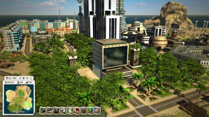 Screenshot 1 - Tropico 5: Supercomputer