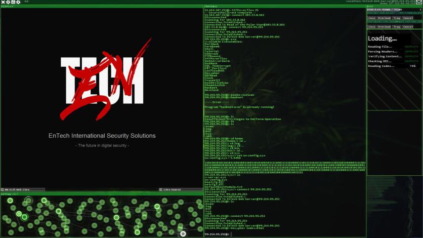 Screenshot 4 - Hacknet