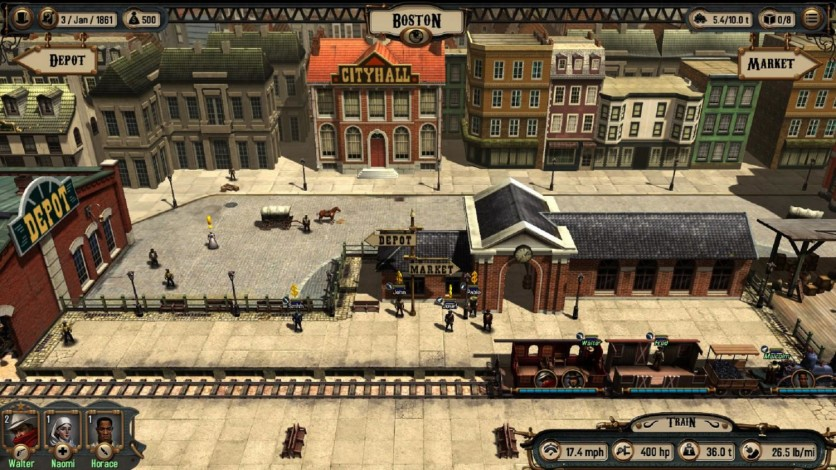 Screenshot 2 - Bounty Train: Trainium Edition