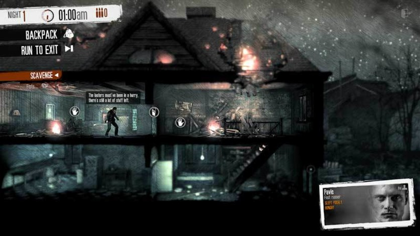 Screenshot 3 - This War of Mine