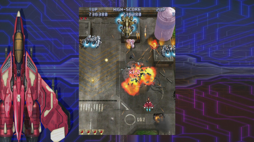 Screenshot 6 - Raiden IV: OverKill