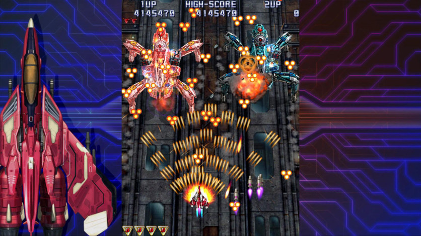 Screenshot 2 - Raiden IV: OverKill